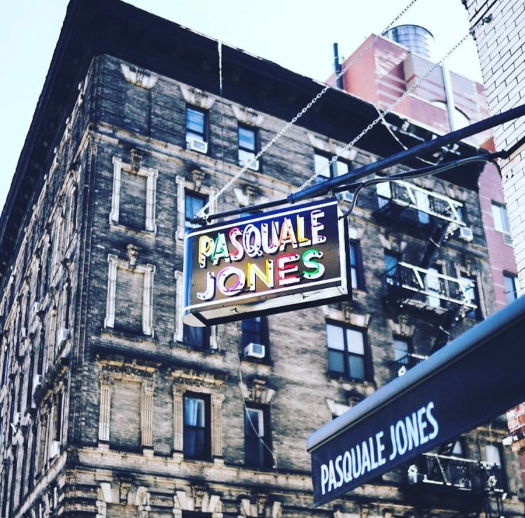 PASQUALE JONES IN NEW YORK