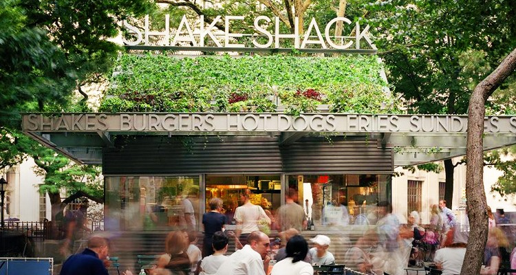 SHAKE SHACK ONE OF THE BEST BURGER  IN NEW YORK