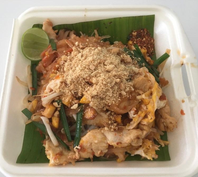 PAD THAI CHICKEN STREET FOOD IN PHUKET