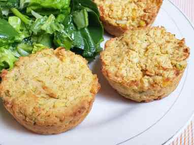 Muffins de garbanzos