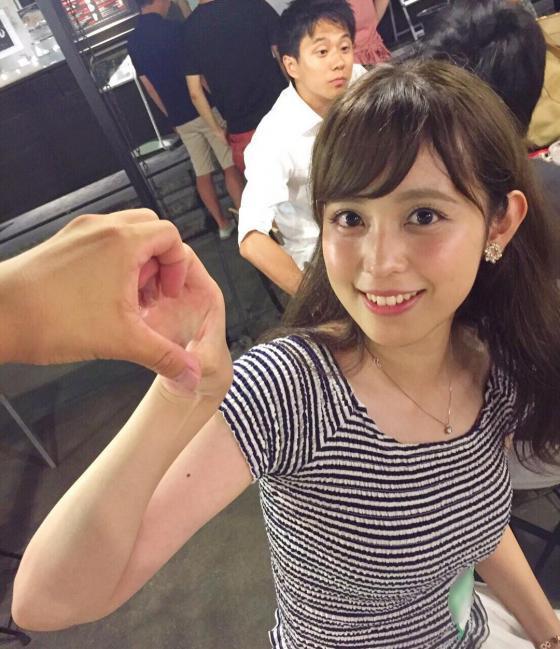 Fuji TV newcomer Ana → Akiko Kuji is too cute www