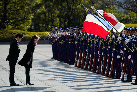 Japan, France reaffirm closer defense cooperation - Nikkei Asian Review