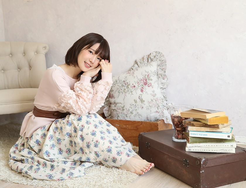 [Image] cute than the idle that Maaya Uchida her voice ww