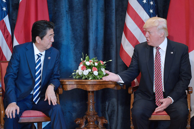 Trump Told Shinzo Abe He'd Send 25 Million Mexicans To Japan To Prove A Point — REPORT - Bustle