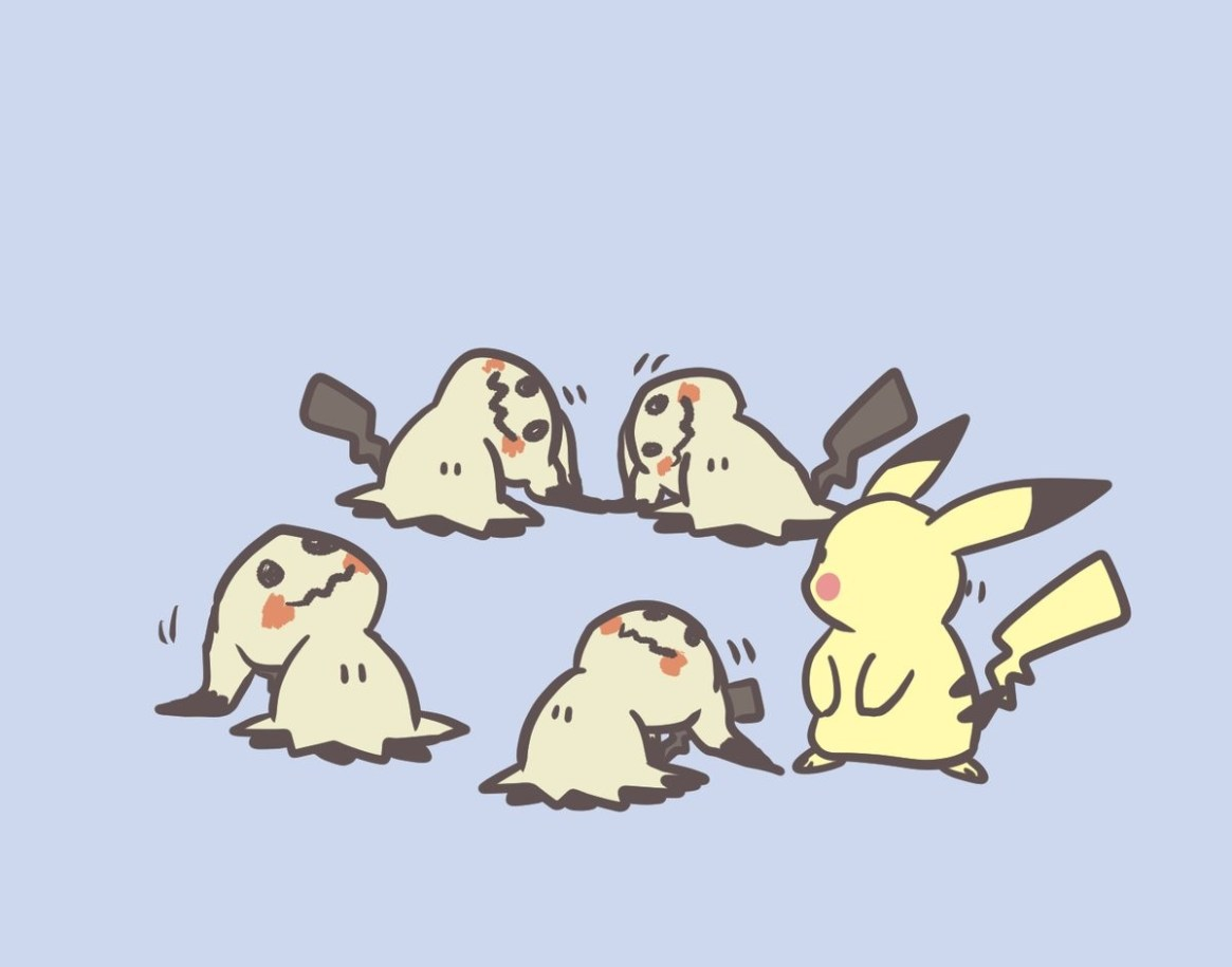 [Kawawa] Pikachu thinking of myself as a mimicque