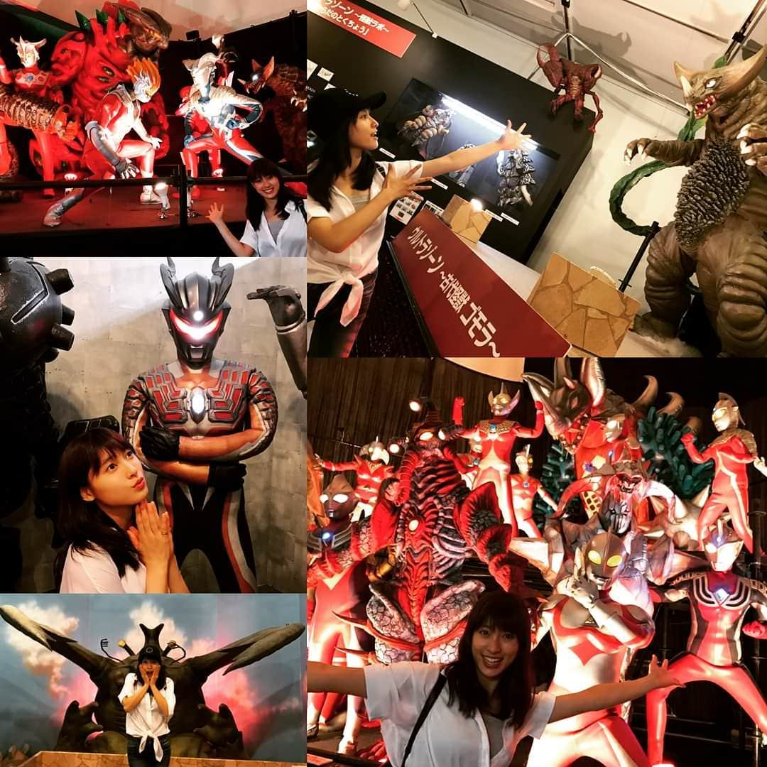 Tsuchiya Taiho, enjoy the Ultraman Festival this year too