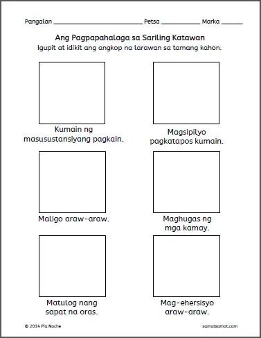 Pagpapahalaga sa Katawan_p1