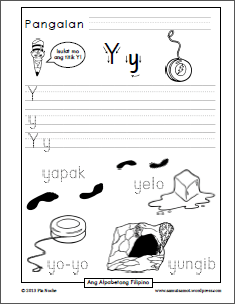 Katinig Handwriting Worksheets W To Z