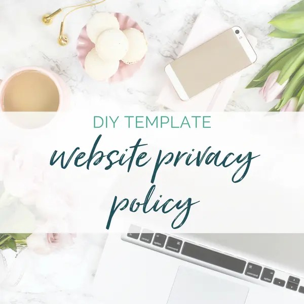 privacy policy website requirements