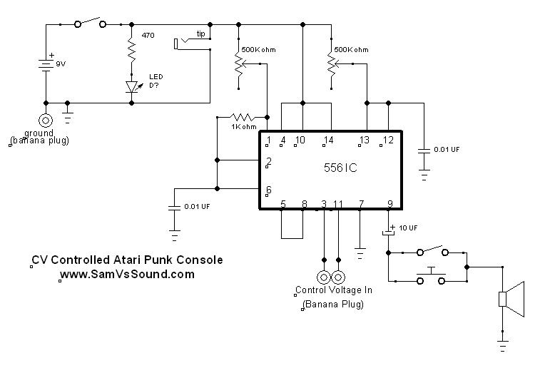 Atari Punk Console Voltage Controlled Sam Vs Soundrhsamvssound: Atari Wiring Diagram At Gmaili.net