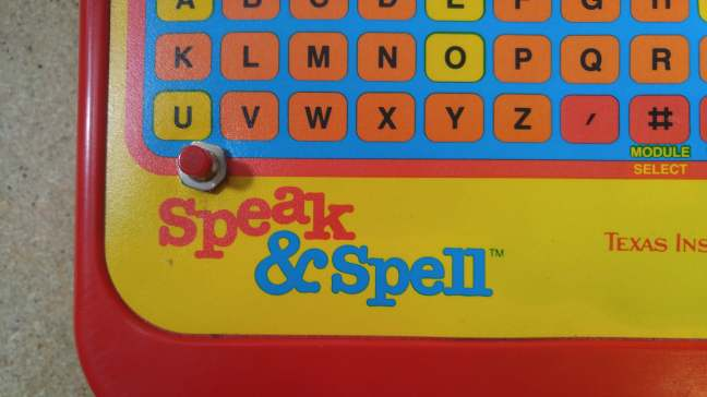 Speak And Spell - Mistake