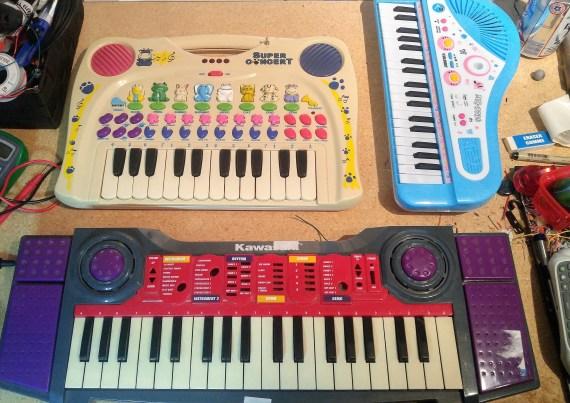 Scrap Keyboards