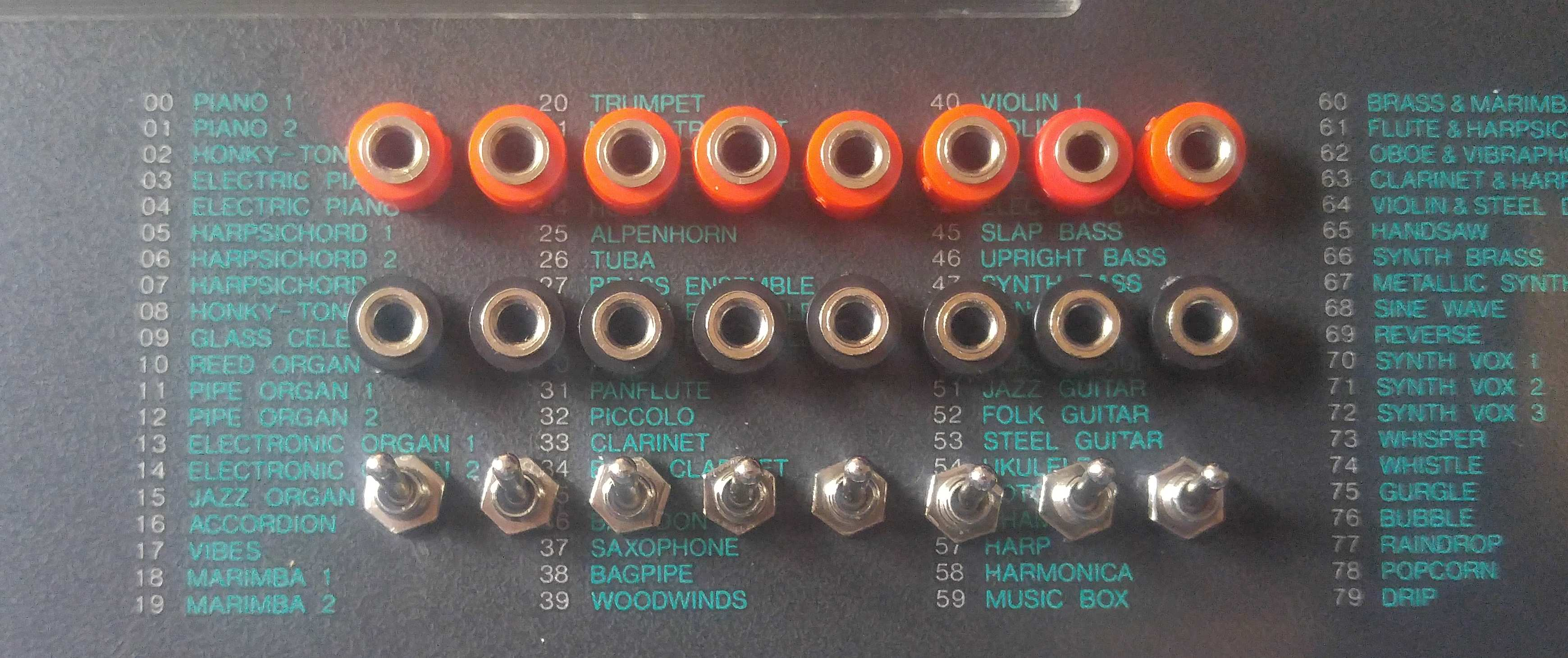 Data Patch Bay Yamaha Psr 6 Sam Vs Sound Circuit Bending Tutorial When You Are Getting Started With This It Can Be A Little Intimidating Will Crash And Spew Loud Garbled Noise