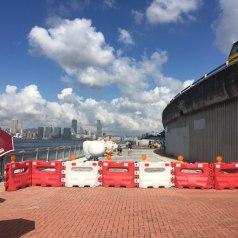 中山公園至副食品市場 海濱長廊貫通/預計十月完成所有工程