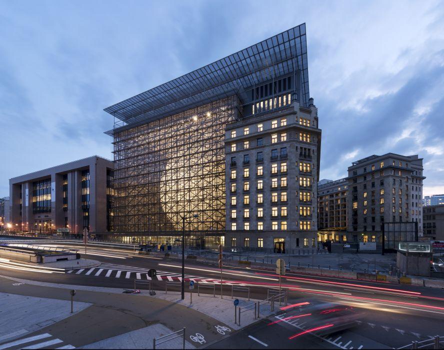 EUROPA : SIÈGE du CONSEIL EUROPÉEN et du CONSEIL DE L'UE – Samyn and Partners