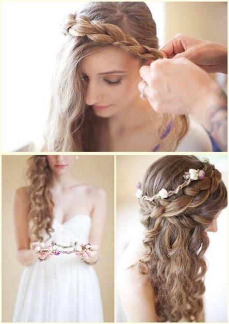 Flower Crown Hairstyles