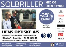Annonse Liens Optiske AS
