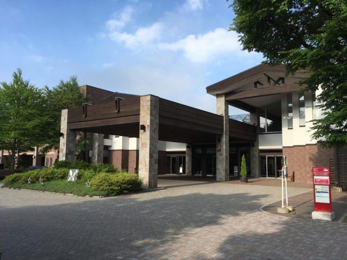 東急ハーベスト旧軽井沢の外観正面