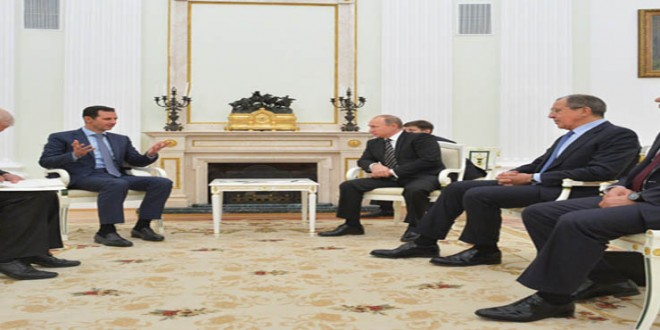 President al-Assad-President Putin 2