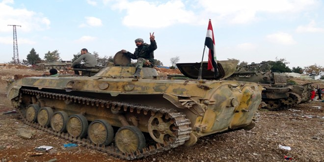 TERRORISTS AND SUPPORTERS GROWING EVER DESPERATE AS SYRIAN ARMY BREAKS THE BACK OF THE SIEGE IN DAYR EL-ZOR; SYRIAN ARMY ABOUT TO LIBERATE HILFAAYAA AND MOVE TO ERADICATE BRITISH COCKROACHES IN LATAKIA 2