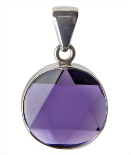 amethyst star of david