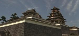 再現大阪城(天守閣は伏見桃山城を使用)