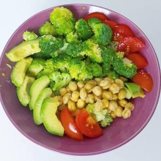 Gemüse Brokkoli Tomate Avocado