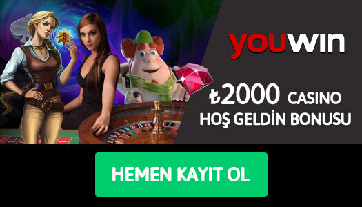 Youwin Casino Hoş Geldin Bonusu