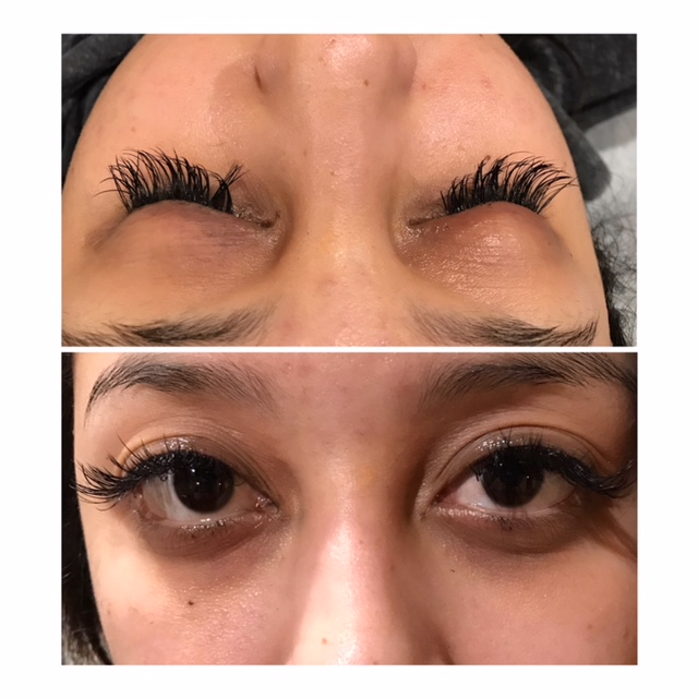 Cosmetics Before and After Eyeliner Tattoo San Antonio