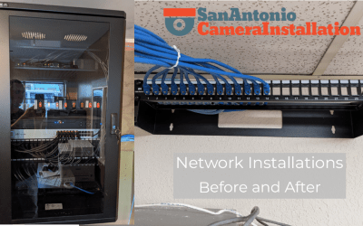 Network Installation Services – Before and After