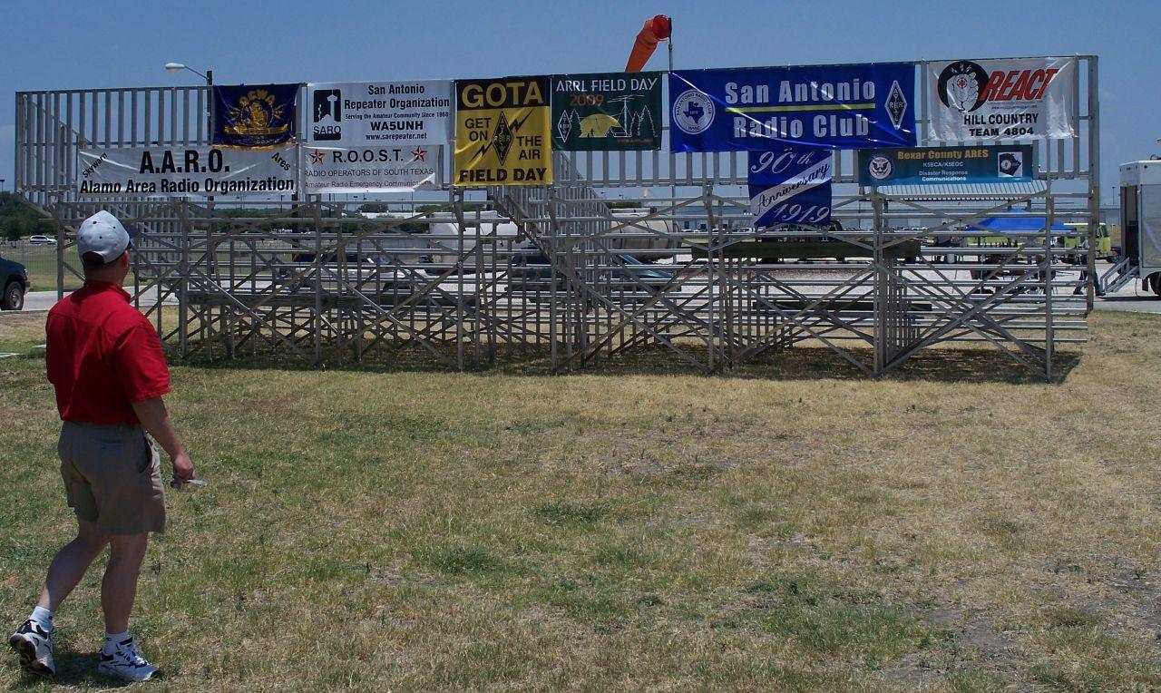 San Antonio Hams » Blog Archive » Field Day 2009 Fuels the