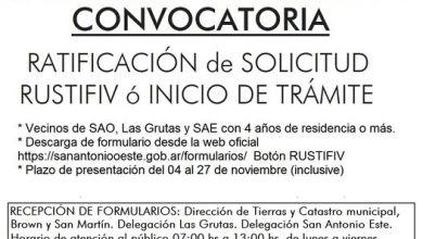 Photo of CONVOCATORIA POR SOLICITUDES DE LOTES PARA VIVIENDA ÚNICA – RUSTIFIV EN EL EJIDO SAN ANTONIO