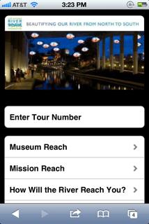 San Antonio River Tour Screen Shot SnappTours