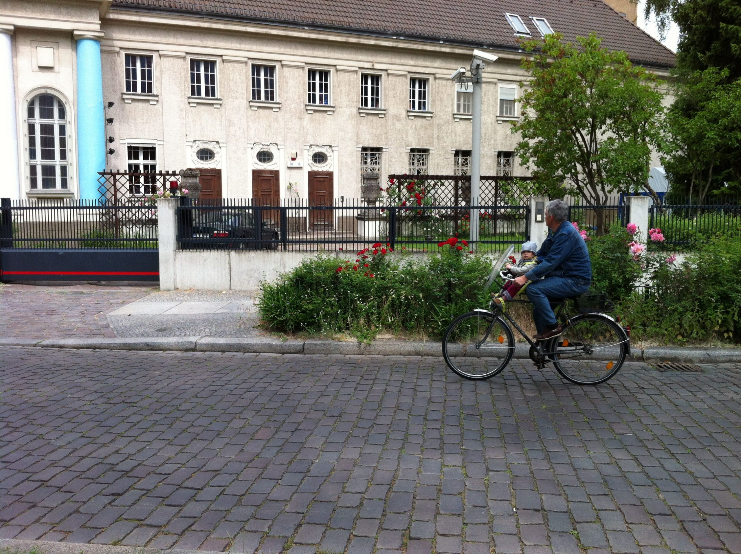 People of all ages and walks of life commute by bicycle in Berlin.