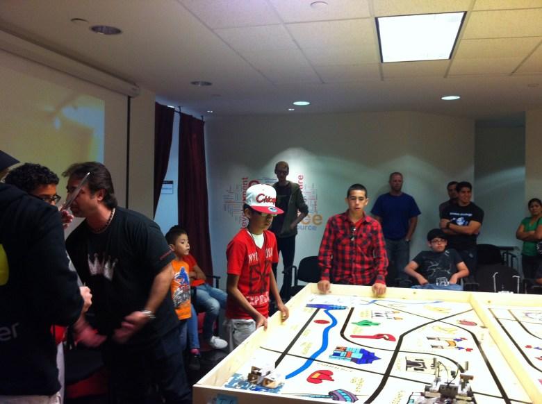 Robotics challenge at Geekdom