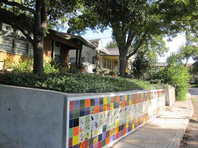 Mahncke Park Painted Tiles
