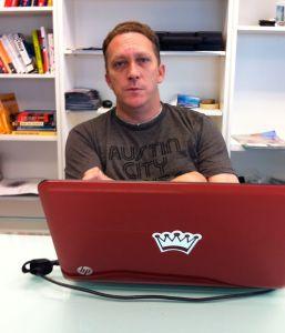 Nick Longo at Geekdom.