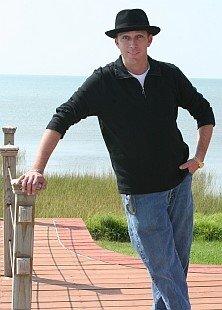 Nick Longo wearing his trademark hat.