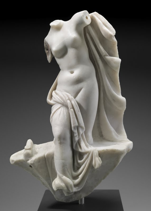 Statuette of Aphrodite emerging from the sea