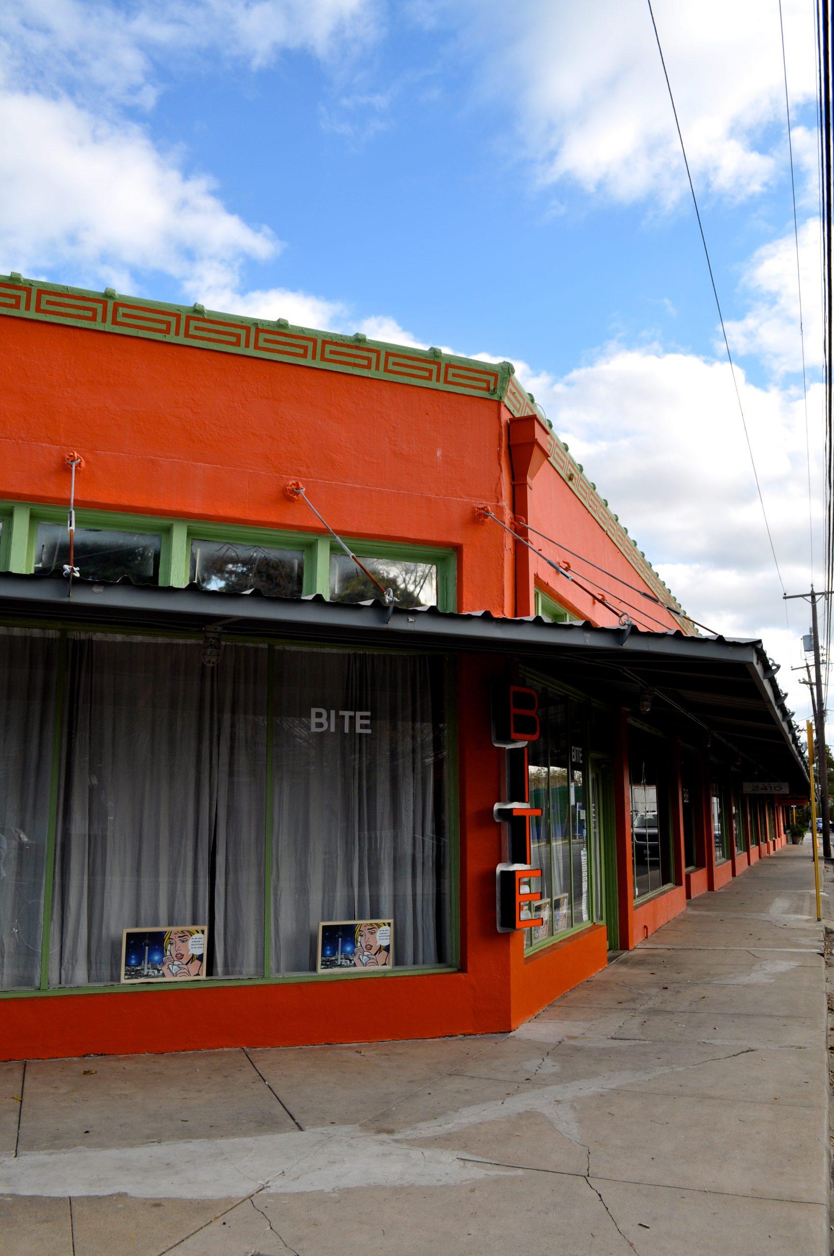 Bite Restaurant in Southtown, San Antonio. Photo by Iris Dimmick.