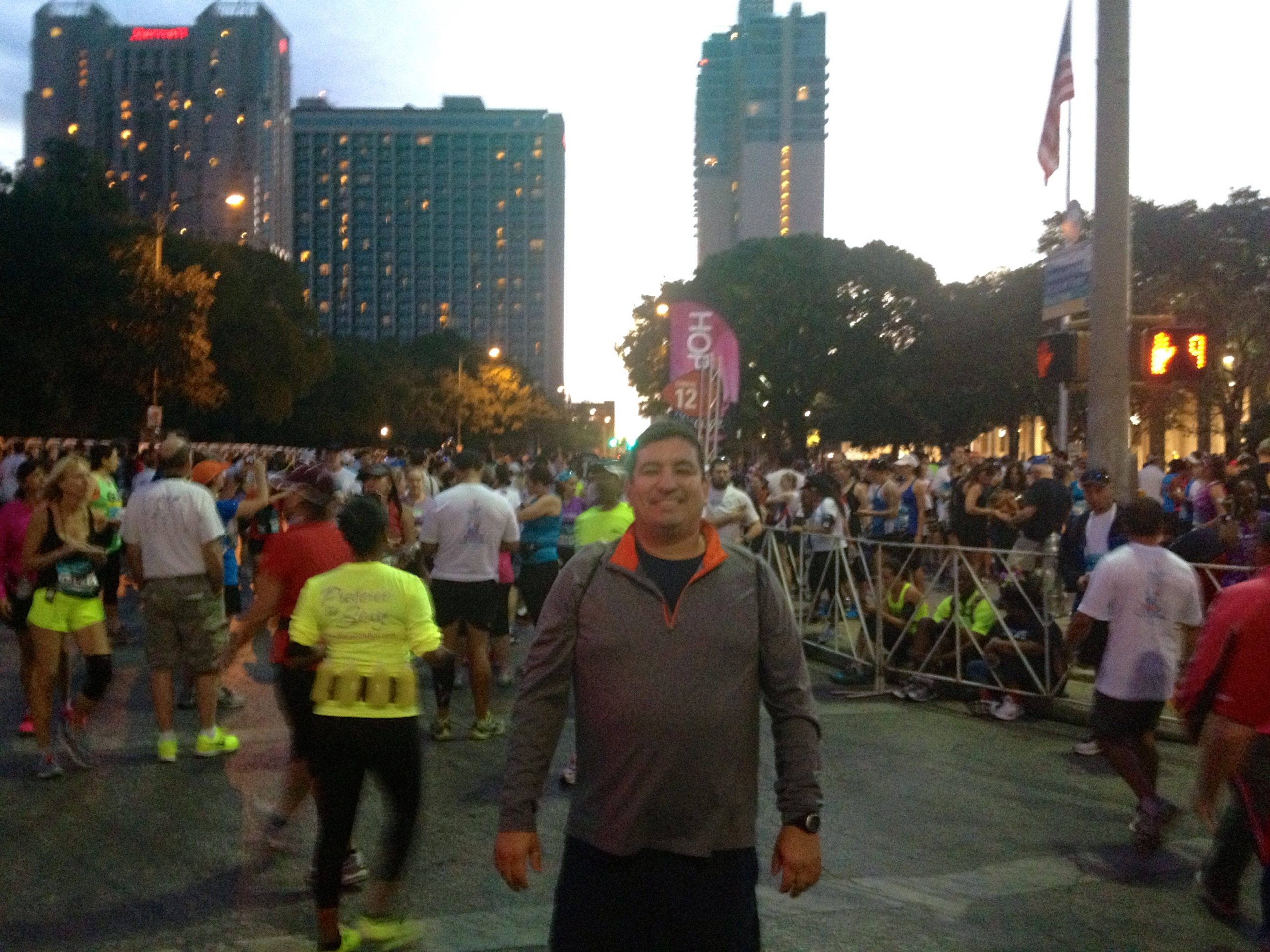 Marathon runner Martin Acevedo