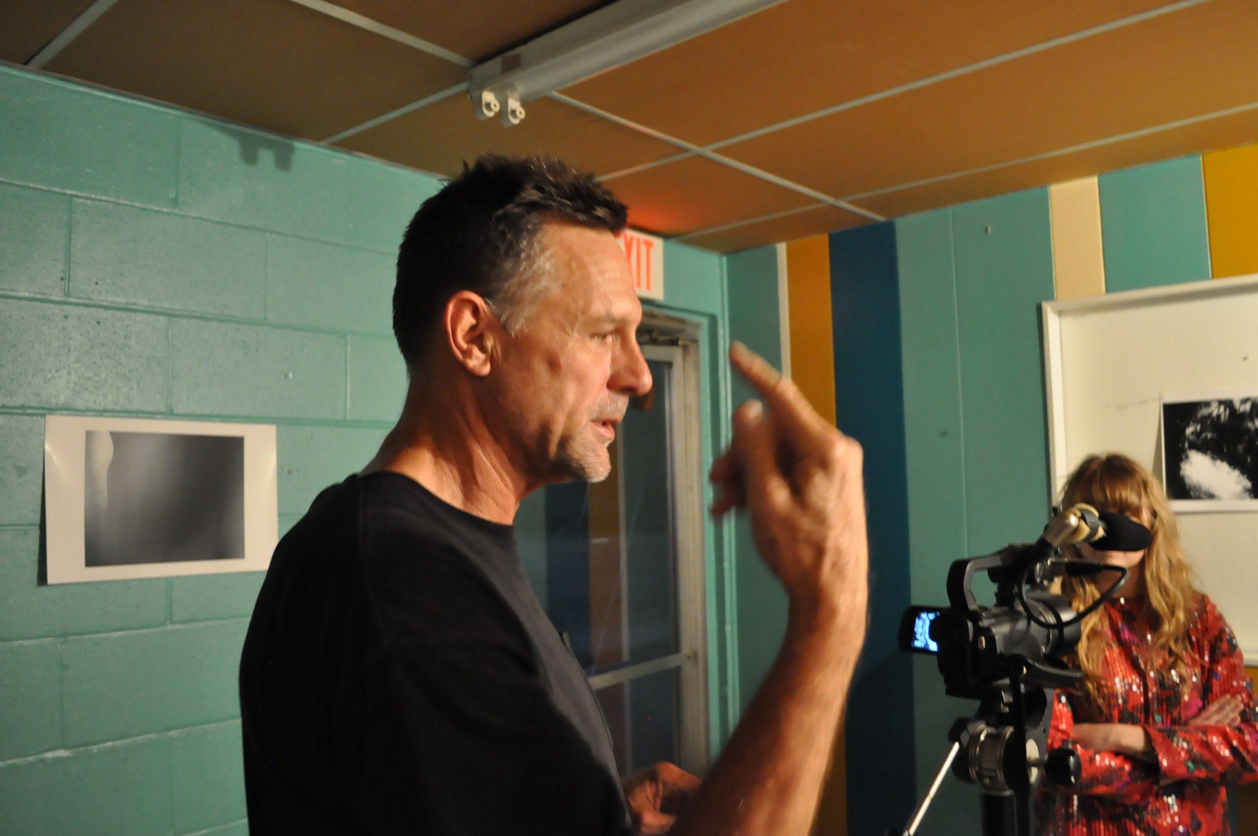 Director Michael Berrier. Photo by Jacob Coltrane Burris.