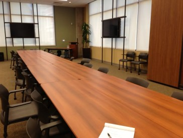 One of many new meeting spaces available to non-profits at the San Antonio Area Foundation's new location.
