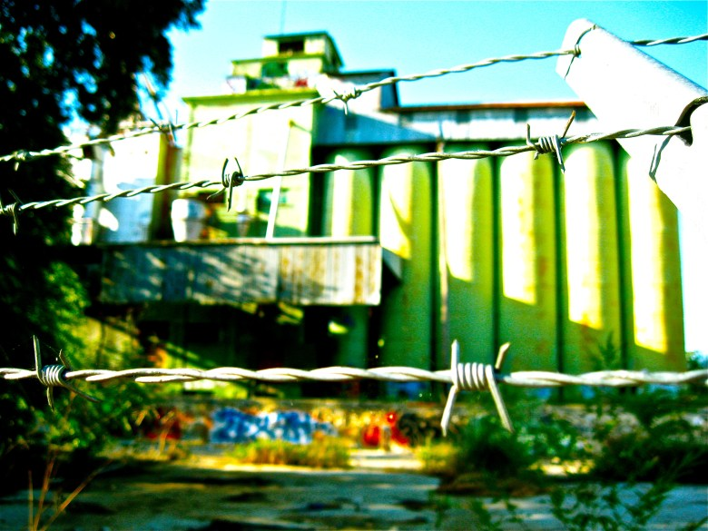From Trevino's portfolio, a building near the blue star – just off the reach bike path.