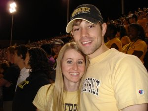 John and his wife, Niki, at Vanderbilt.