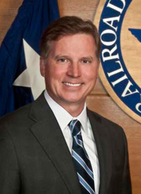 Chairman Barry Smitherman of the Texas Railroad Commission.