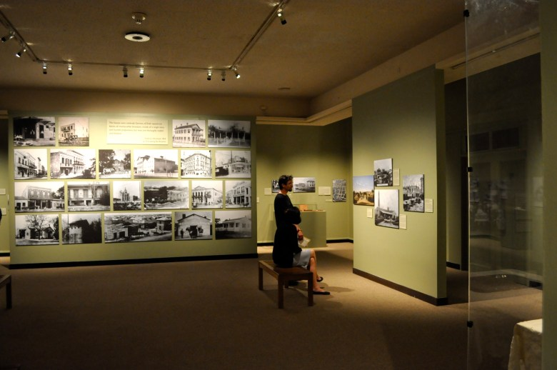 The Witte Museum's Wanderlust gallery of German history in Texas displays dozens of historic photos and recreated rooms to illustrate the German experience. Photo by Iris Dimmick.
