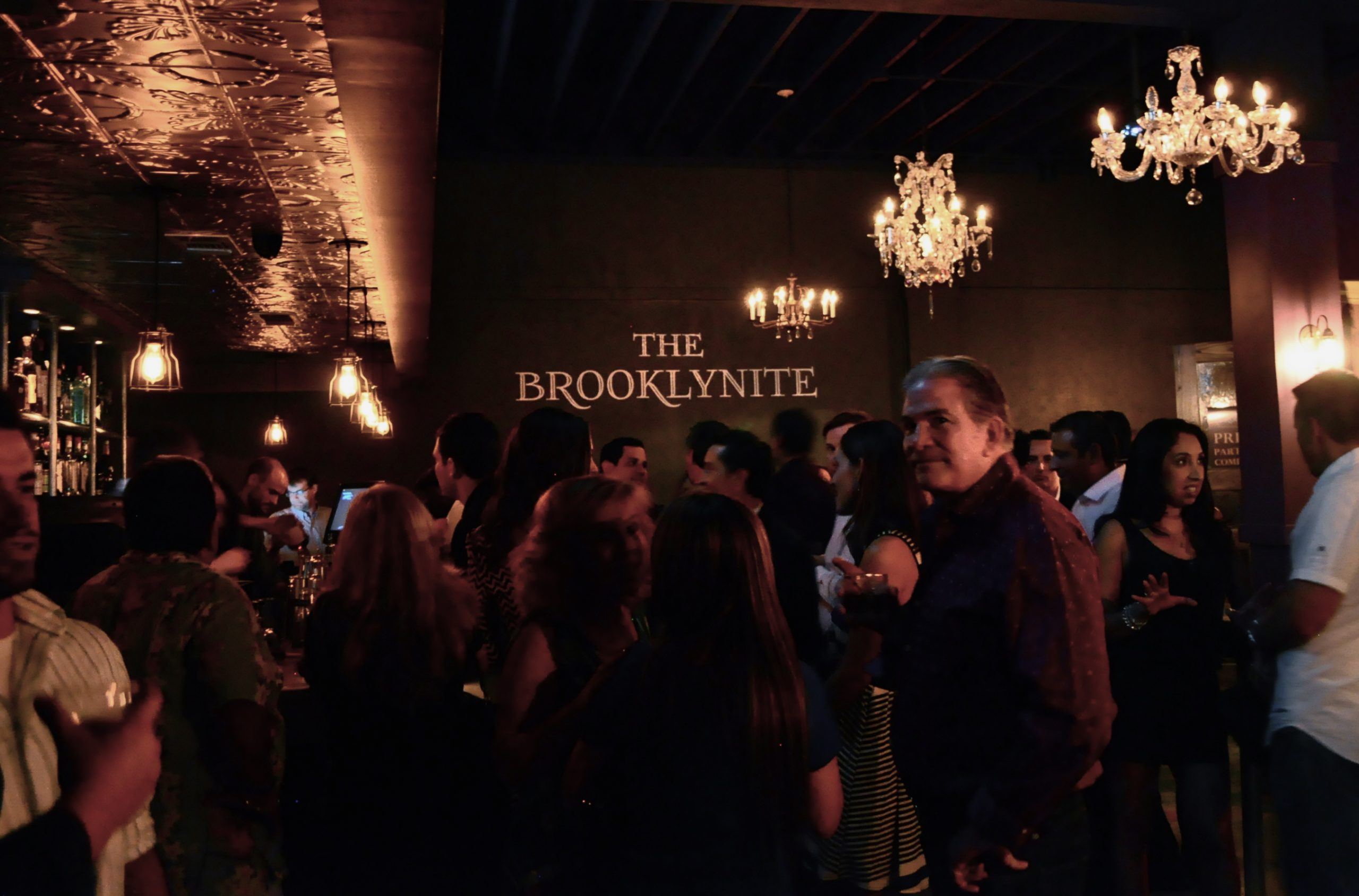 Opening night at the Brooklynite. Photo by Iris Dimmick.
