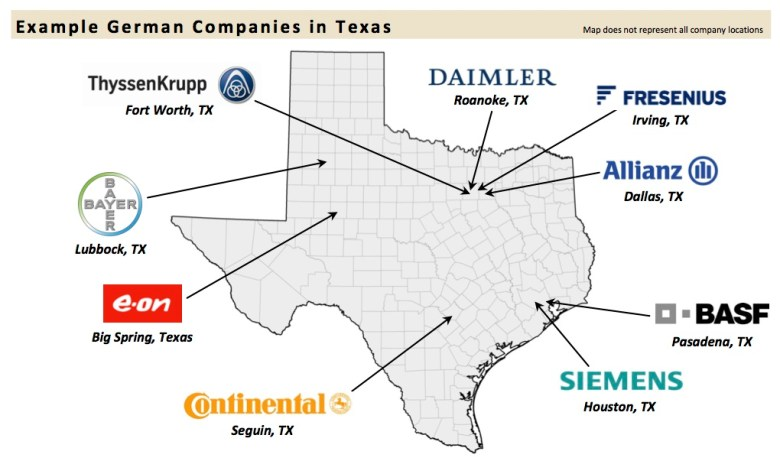 Graphic courtesy of the Office of Gov. Rick Perry, Economic Development & Tourism.