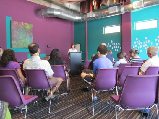 The 2011 Young Writers Camp at Gemini Ink.